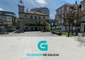 Programa de TVG @ Praza Maior Carballiño