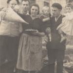 1960 Paco Gomez, Festa do Pulpo, foto histórica