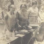Carmen Moure e Marina Peregrina