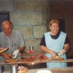 Festa do Pulpo, foto histórica. Agosto 2001