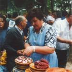 Aurora Baranda, Festa do Pulpo, foto histórica 1970