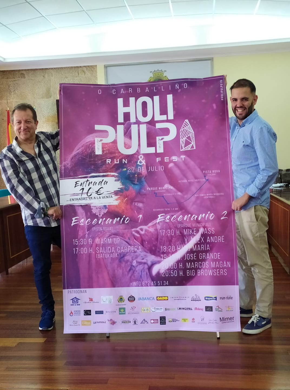Presentación Cartel HOLI Pulpo Run & Fest