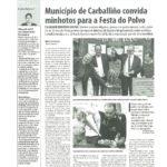Noticias Portuguesas sobre a Festa do Pulpo