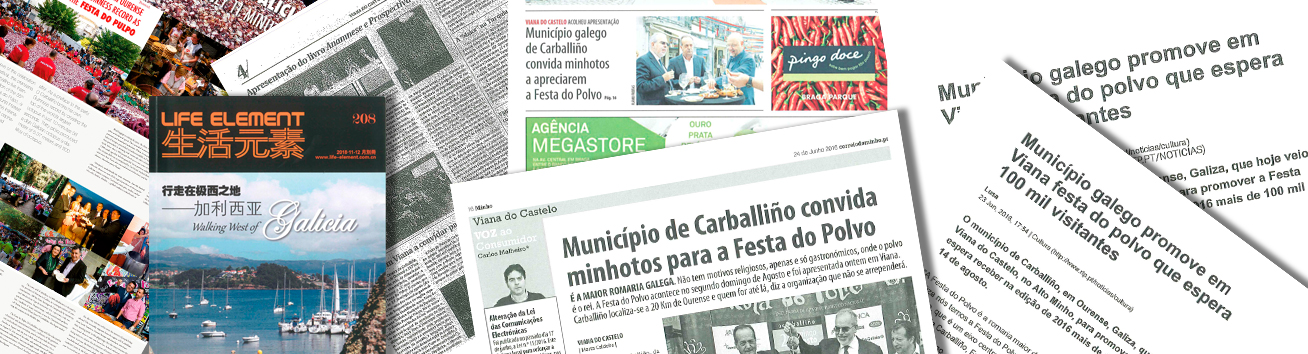 Prensa Internacional sobre la Festa do Pulpo