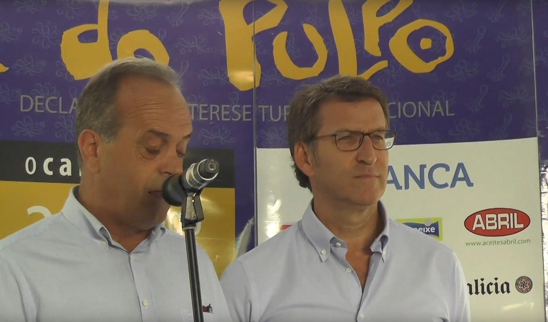 Imagen de Presentación de Vídeo sobre la Festa do Pulpo